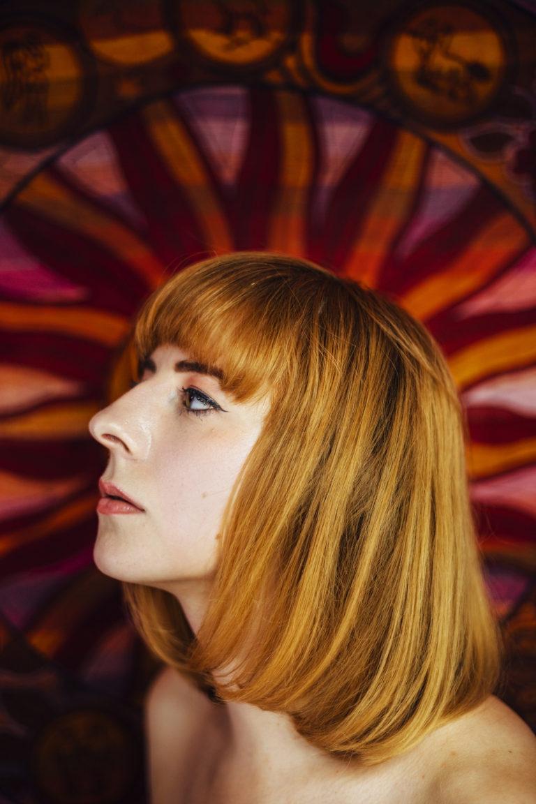 riennahera marta dziok zodiac pink portrait redhead photographer magic magical photography london kat terek